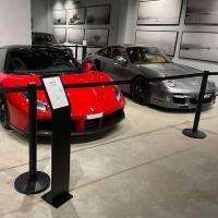 Avspärrningsstolpe Museo Black