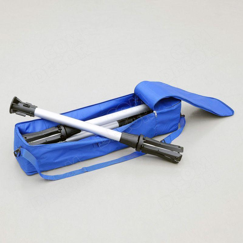Bärbara avspärrningsstolpe och bärväska