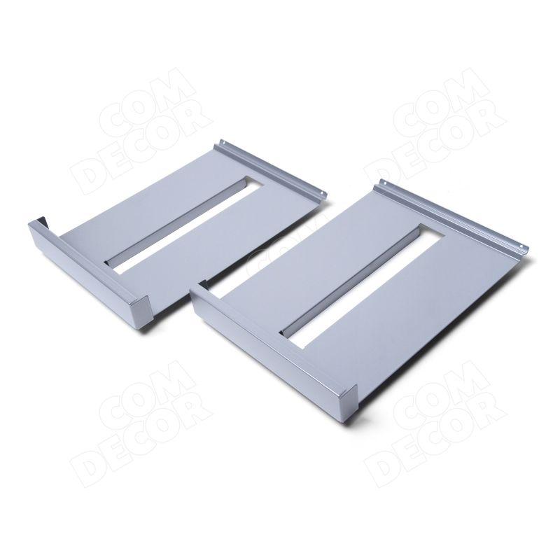 Broschyrhyllor av stål