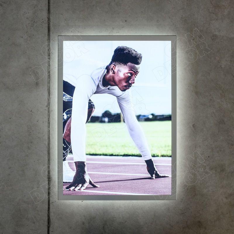 Ljuslåda / ljusbox / ljusreklam