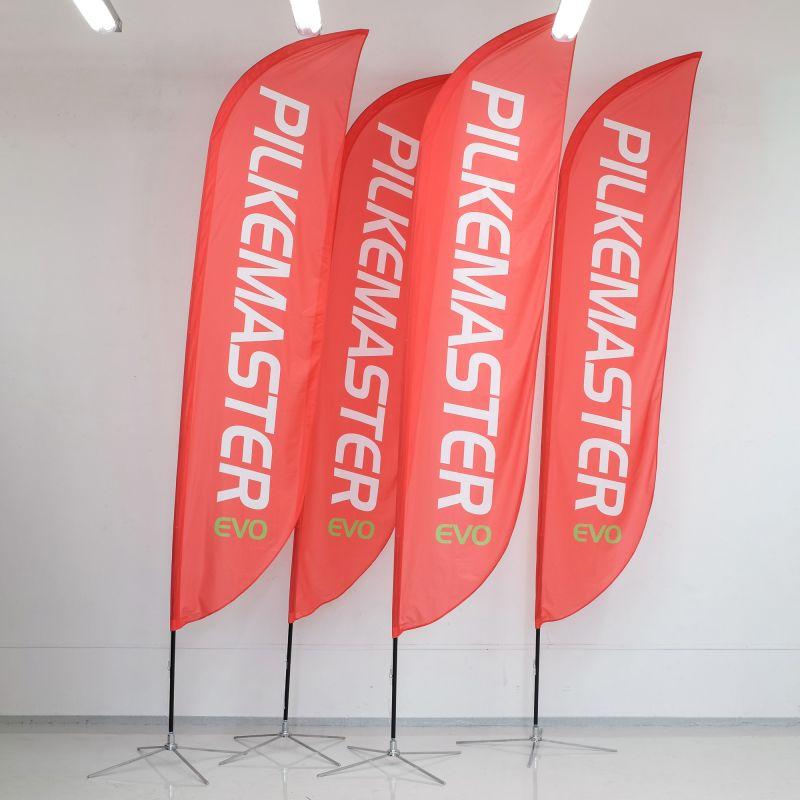Reklamflagga / beachflagga