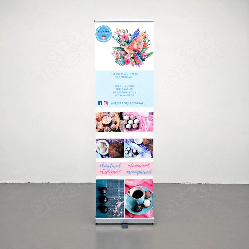 Roll up banner - 60cm