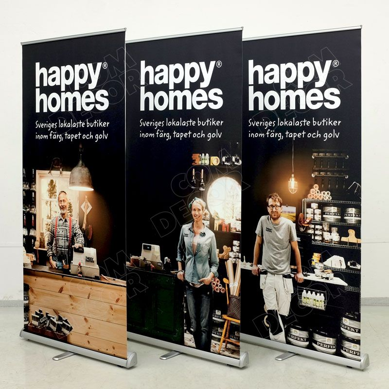 Roll up banners 100cm