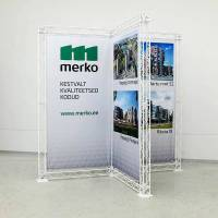 Exhibitionr construction / exhibition stand / truss stand