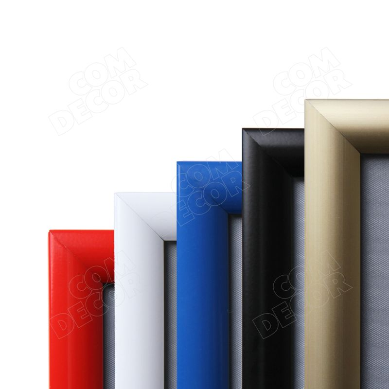 Coloured poster frames