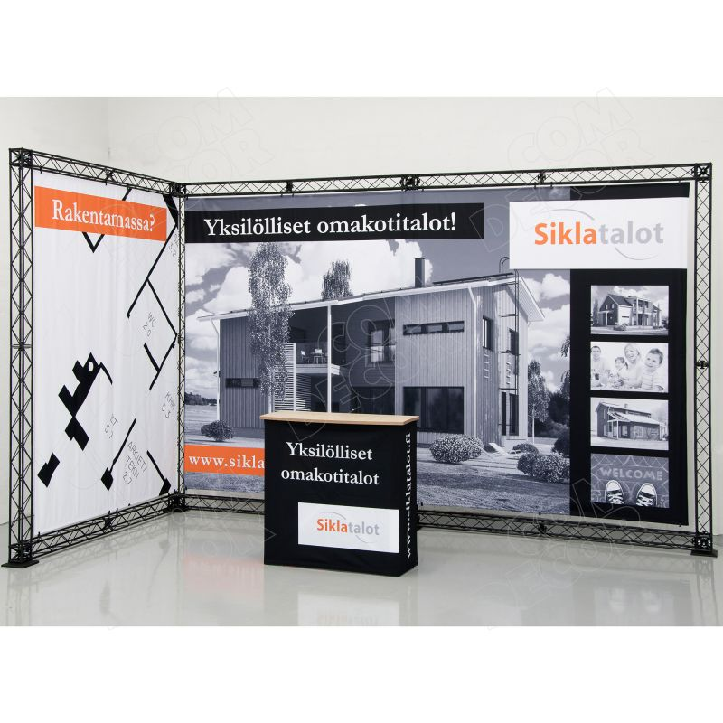 Exhibition accessories - exhibition wall and counter