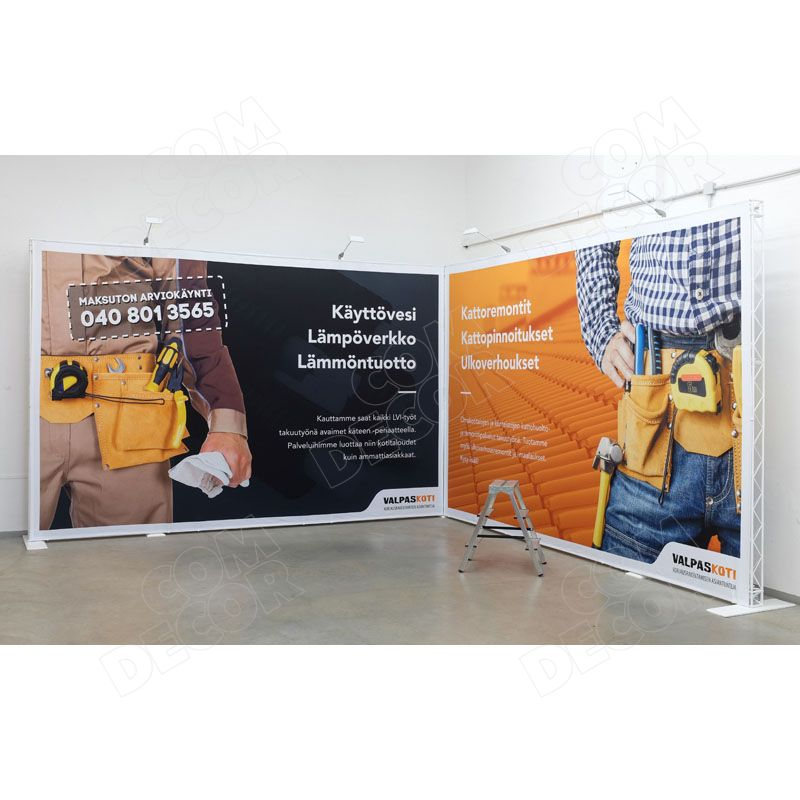 Exhibition construction / exhibition stand