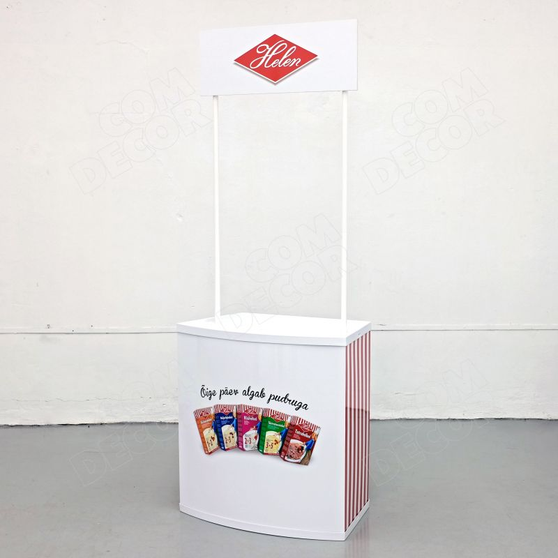 Large promotional counter
