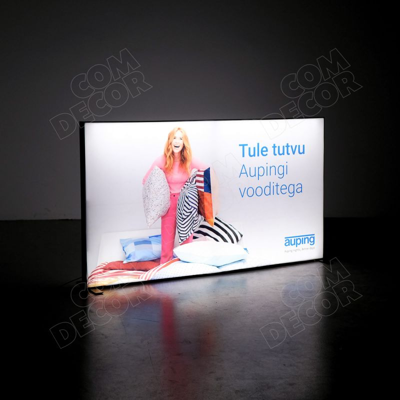 Lightbox T-flex / SEG illuminated advertisement