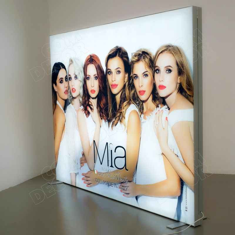 Lightbox T-Flex / SEG illuminated advertising