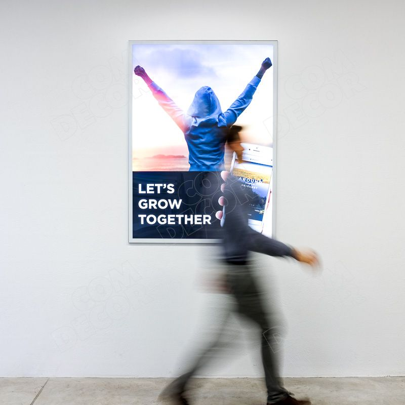 Lightbox - thin and bright illuminated advertising