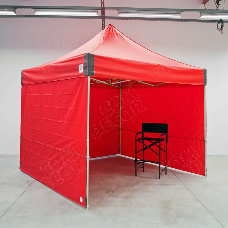 Pop up tent and directors chair