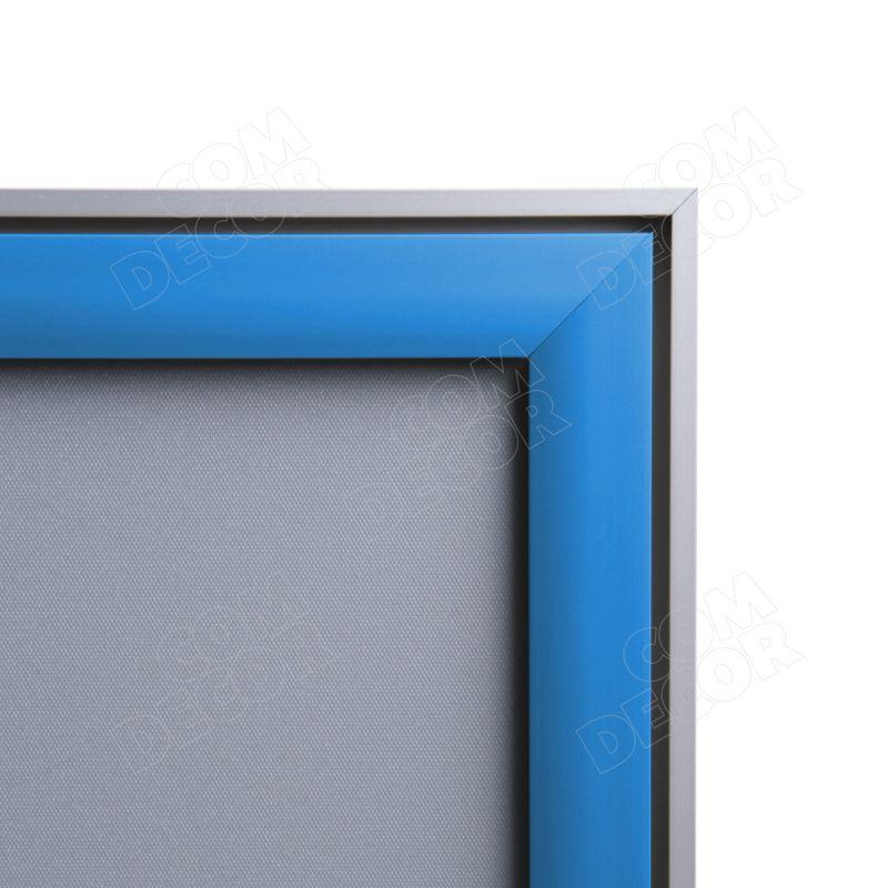 Poster frame with coloured snapframe