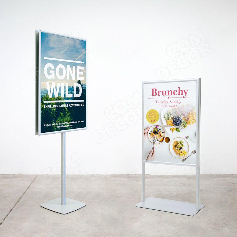 Poster stands / menu stands / information stands