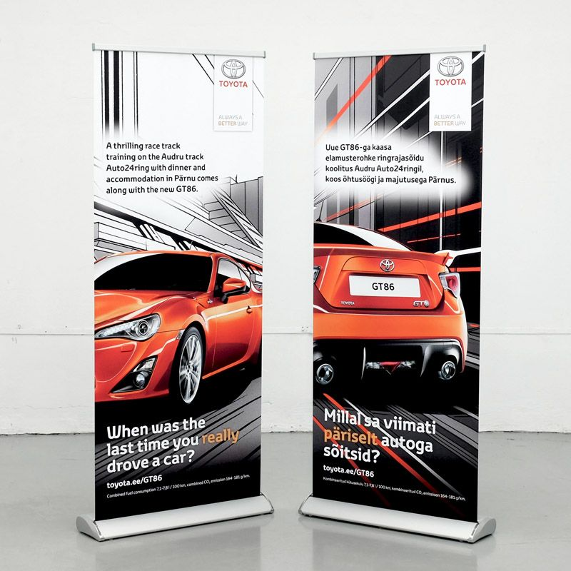 Rollup advertising